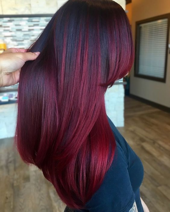 Lace Frontal Wigs Red Hair Viking Red Hair Straight Purple Wig Basic Hairstyles Indian Mens Hairstyles For Short Hair Free Shipping
