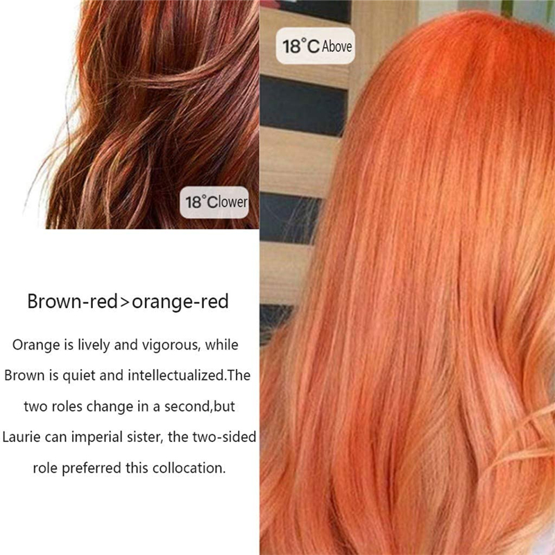 Temperature Color Changing Hair Dying