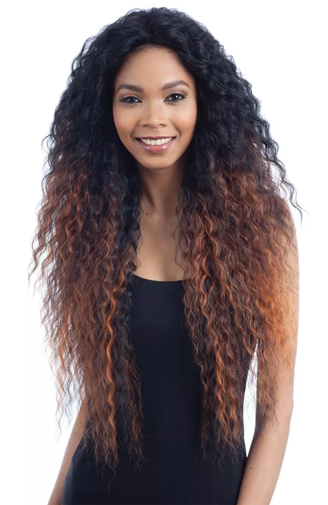 Model Model Artist Human Hair Mastermix Lace Front Wig AT-210
