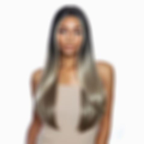 Mixed Grey Lace Front Wigs Short Gray Hair With Black Highlights Taylor Swift Hair Color Violet Hair Color