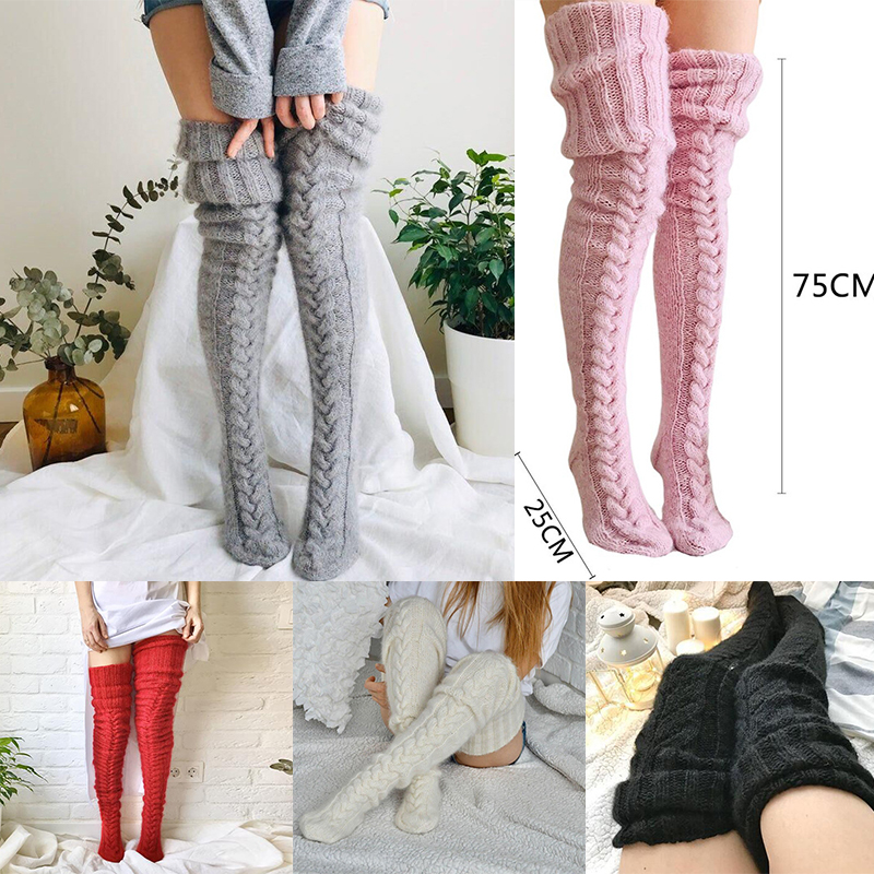 Knitted Stockings(❤️Winter Promotion 2021)