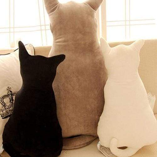 High Quality Cat Soft Plush Back Shadow Toy Sofa Pillow Seat Cushion Birthday Gift