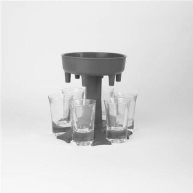Shot Glass Dispenser Holder