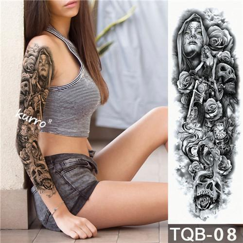 Waterproof Temporary Sleeve Arm Tattoo(JUST $7.99)