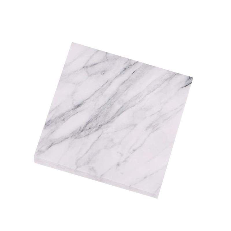1PC 75sheets/pc Marble's Style Notepad Self Adhesive Memo Pad Sticky Notes Post It Bookmark School Office Supply