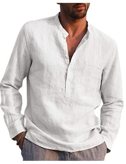 Men's Casual linen shirt