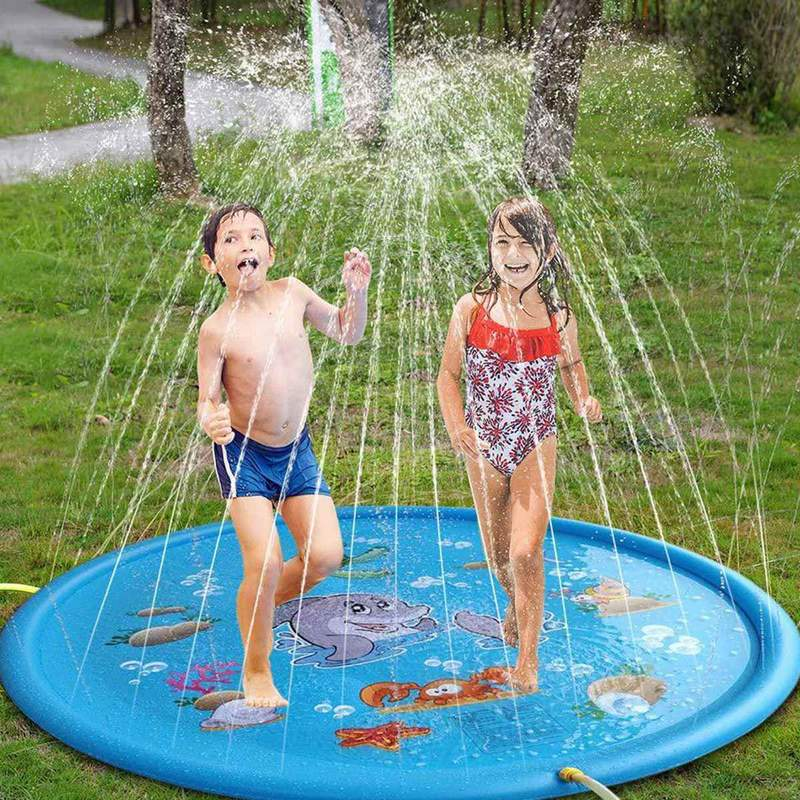 【⭐LAST DAY 50% OFF⭐】Wading Pool for Learning – Children's Sprinkler Pool(Free Shipping)