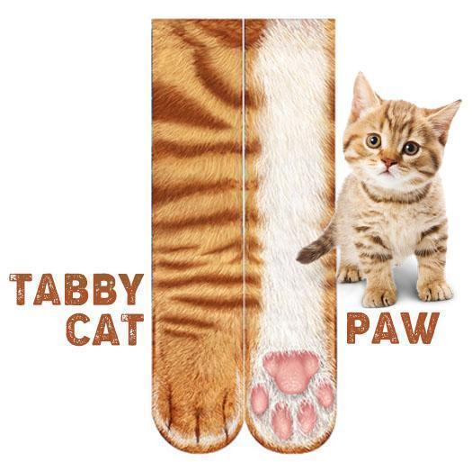 Flurry 3D Animal Paw Socks[ONE SIZE FITS ALL]