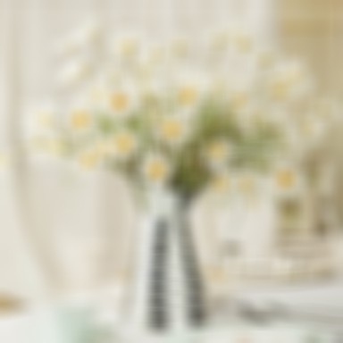 Artificial Flowers 1 Branch Pastoral Style Sunflowers Daisies Magnolia Tabletop Flower