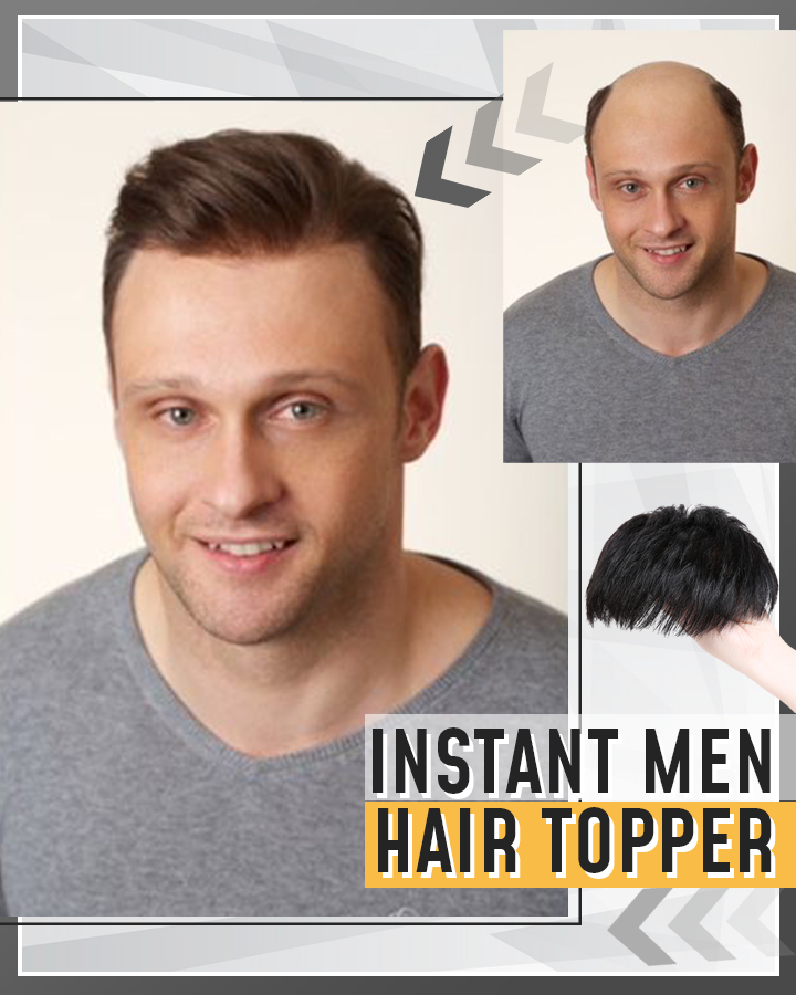 Instant Men Hair Topper(Buy 4 get free shipping)