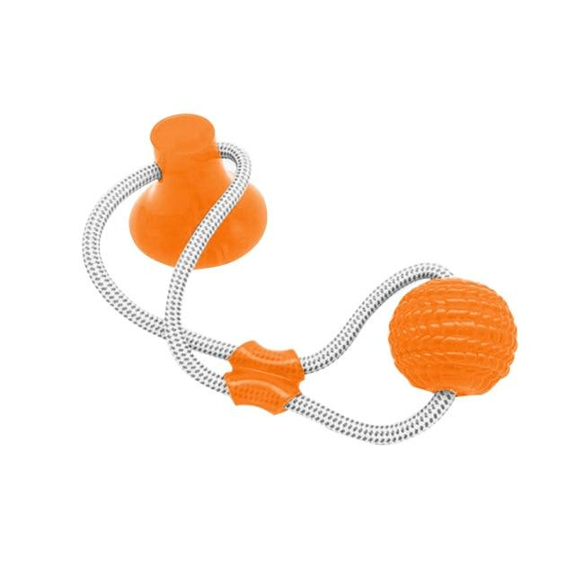 Christmas 30%OFF🔥Suction Cup Dog Tug Toy
