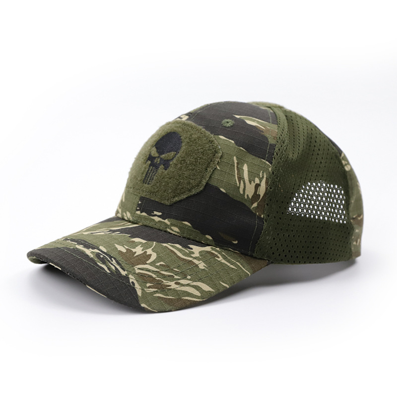 Military Fan Tactical Hat Outdoor Climbing Camping Sunscreen Hat