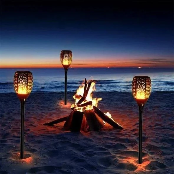 LED Solar Dancing Flame Light (Buy 4 Free Shipping)