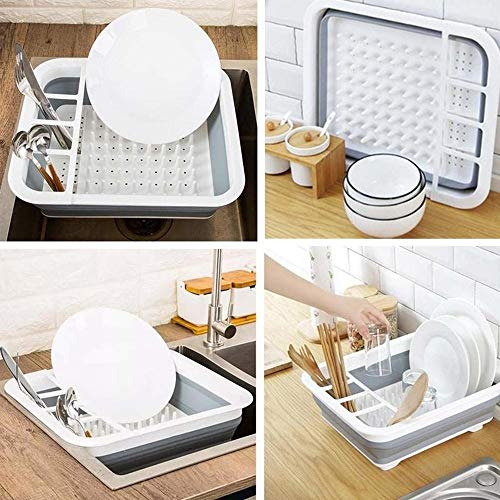 Kitchen Folding Drainage Dish Rack