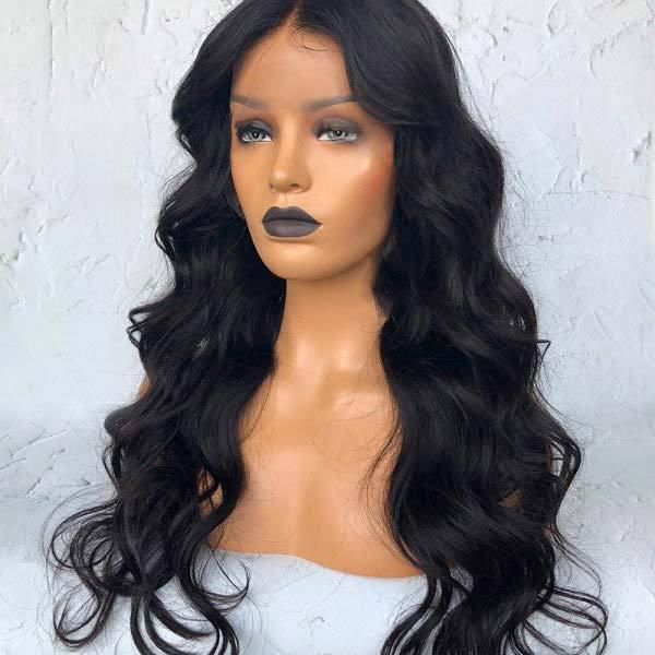 BODY WAVY HAIR WIG-140%(Extra Thick As In Video)