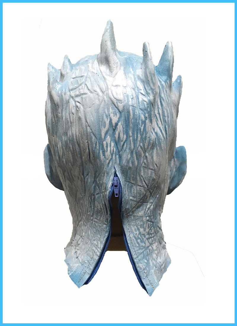 Head Mask Of Night King In Game Of Throne