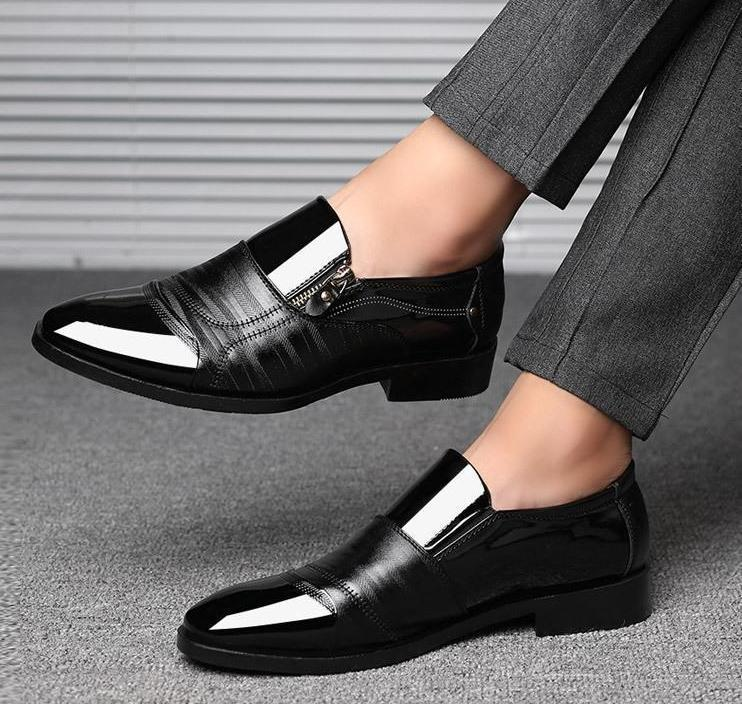 High Quality Classic Leather Men's Shoes 2019!