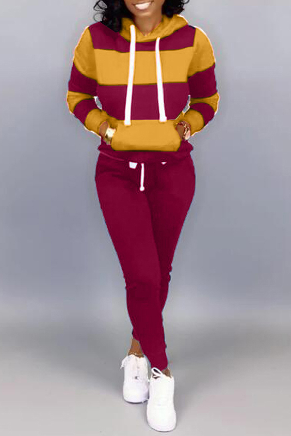 Hooded Casual Sports Set