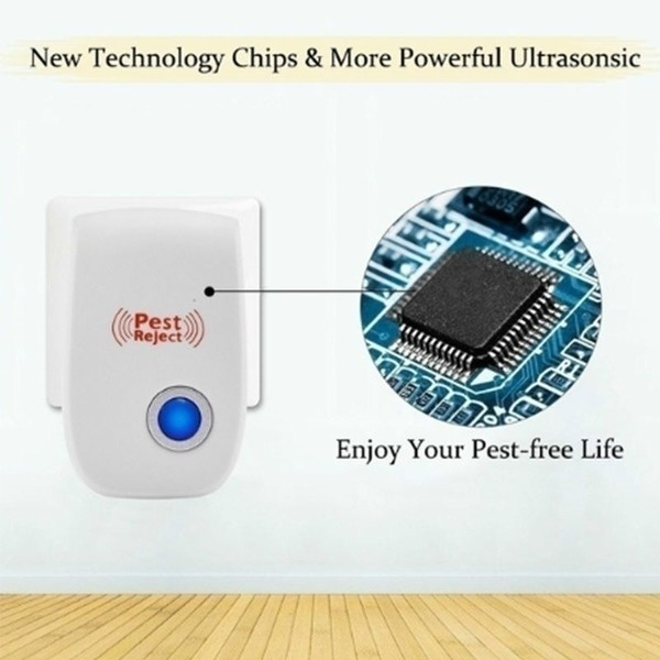 Ultrasonic pest electronic repeller control mosquito mouse rat reject insect cockroach ant spider flea killer