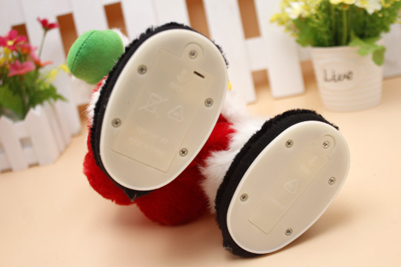 Electric Dance Singing Santa Claus Doll Toy Ass Twist Music Plush Toys Christmas Gift Children's Toys Christmas Decorations