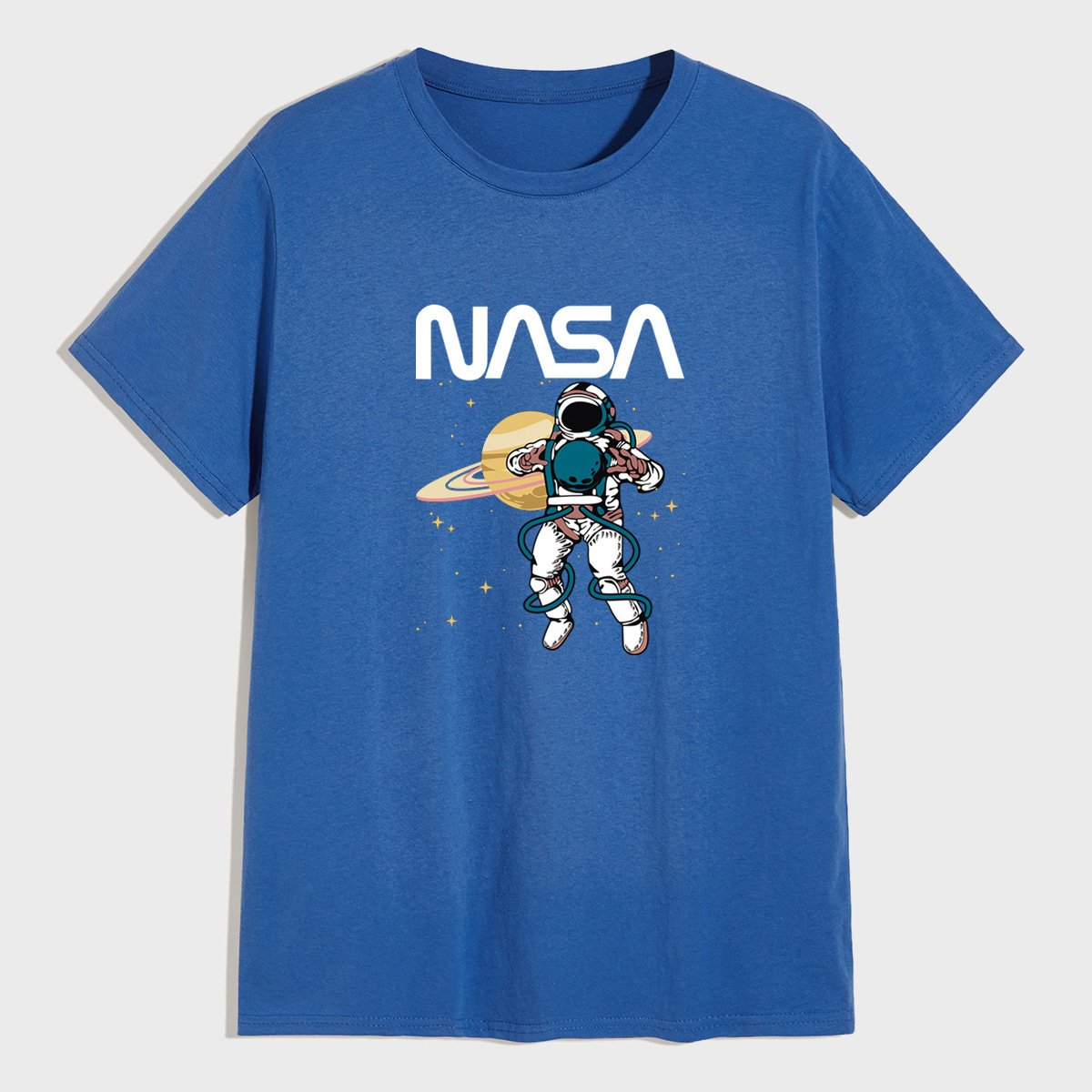 Nasa Shirts Nasa Printed Short Sleeve shirts