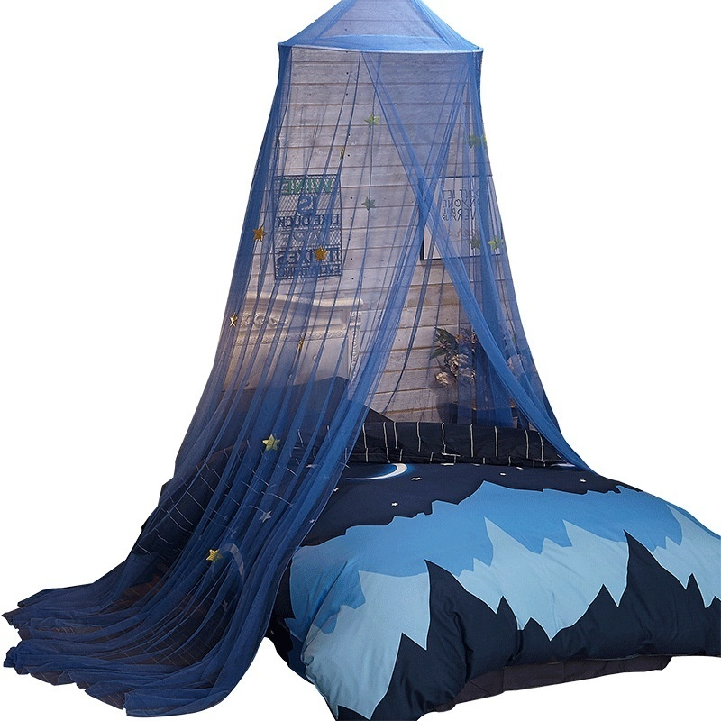 60*230*850cm Elegant Round Lace Insect Bed Canopy Netting Curtain Dome Mosquito Net New House Bedding Decor pink white blue