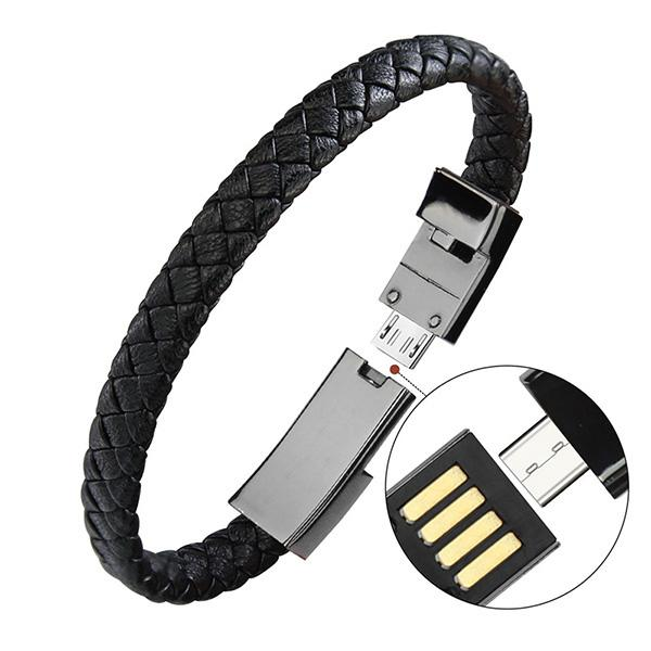 (HOT SALE,50% OFF TODAY)Bracelet Data Charging Cable