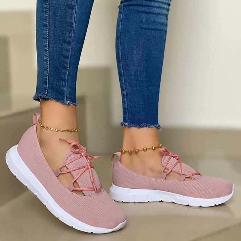 Higomore™ Women's Comfy Lace-up Sports Knit Sneakers