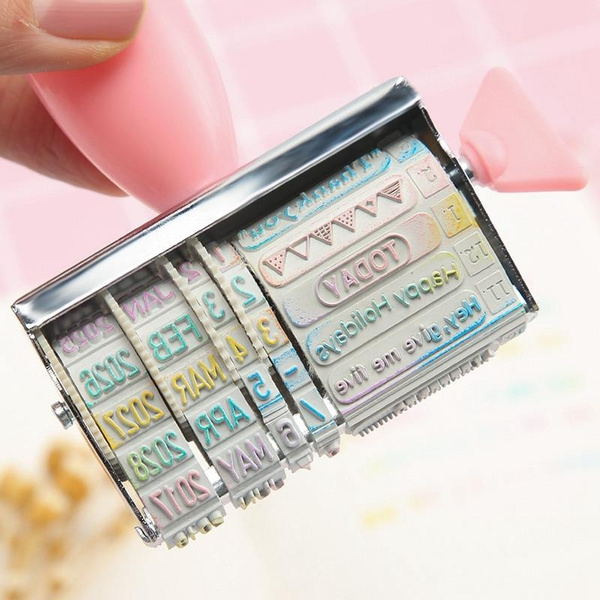 Words Date Roll Stamps for Scrapbooking DIY Stamp Stempel Christmas Stamps Crafts To Make Cards