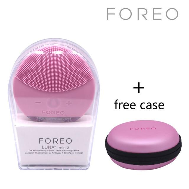 Foreo Luna Mini 2 Electric Facial Cleansing Pore Cleaner Apparatus Blackhead Removal Silicone Washing instrument