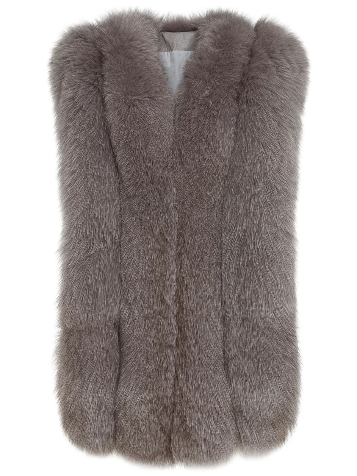 Faux fashion women's fur mink coat