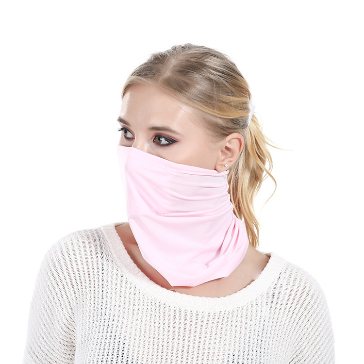 Ice Silk With PM2.5 Mask Summer Neck Gaiter Cooling Neck Gaiter Face Buy 3 Get 4