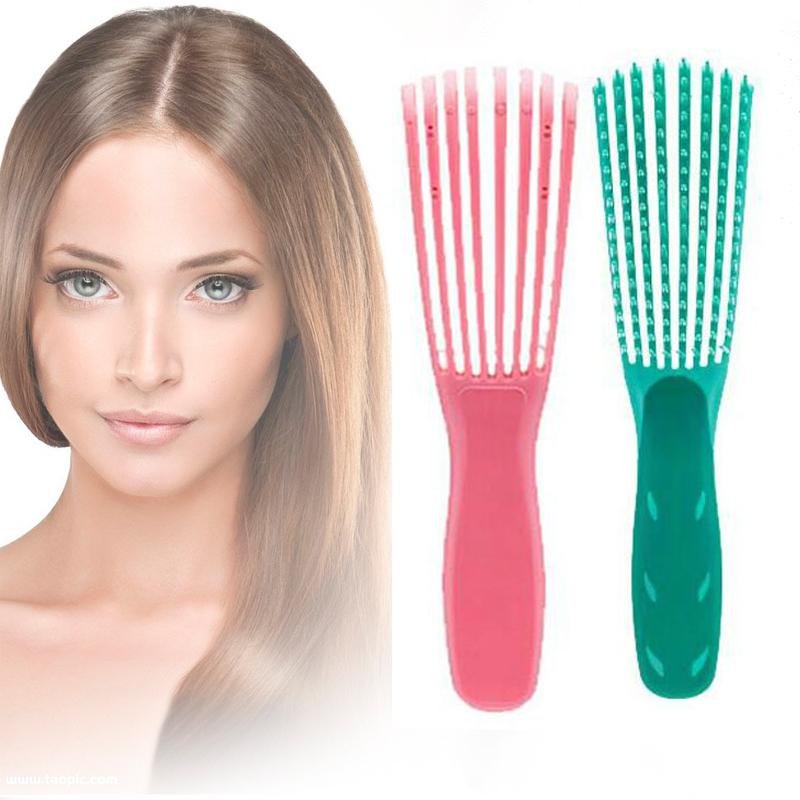 The Wonder Brush Scalp Massage Comb Reducing Fatigue Removal tangles