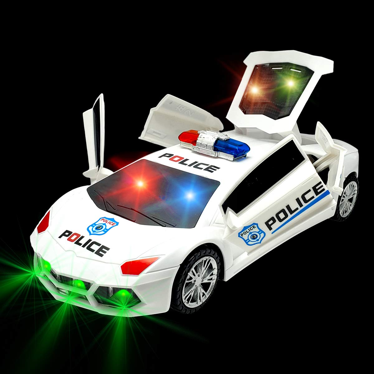 🎁The Best Gift & Electric Deformation Car Toy with Lights and Sounds for Kids