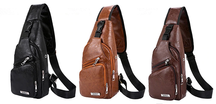 Anti-Theft Inclined shoulder bag