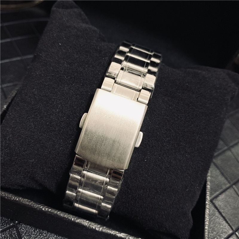 Fashion SEIKO  Men's Quartz Watch Classic Stainless Steel luxury Watch