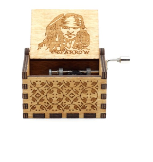Handmade Wooden Music Boxes