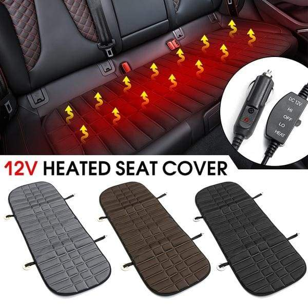 130x48x1.5cm 12v 42W Rear Back Heated Heating Seat Cushion Cover Pad Winter Car Auto Warmer Heater Automotive Accessories