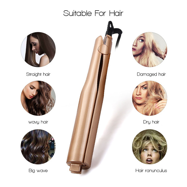 (Holiday Promotion - 60% OFF) 2 in 1 Hair Curler and Straightener