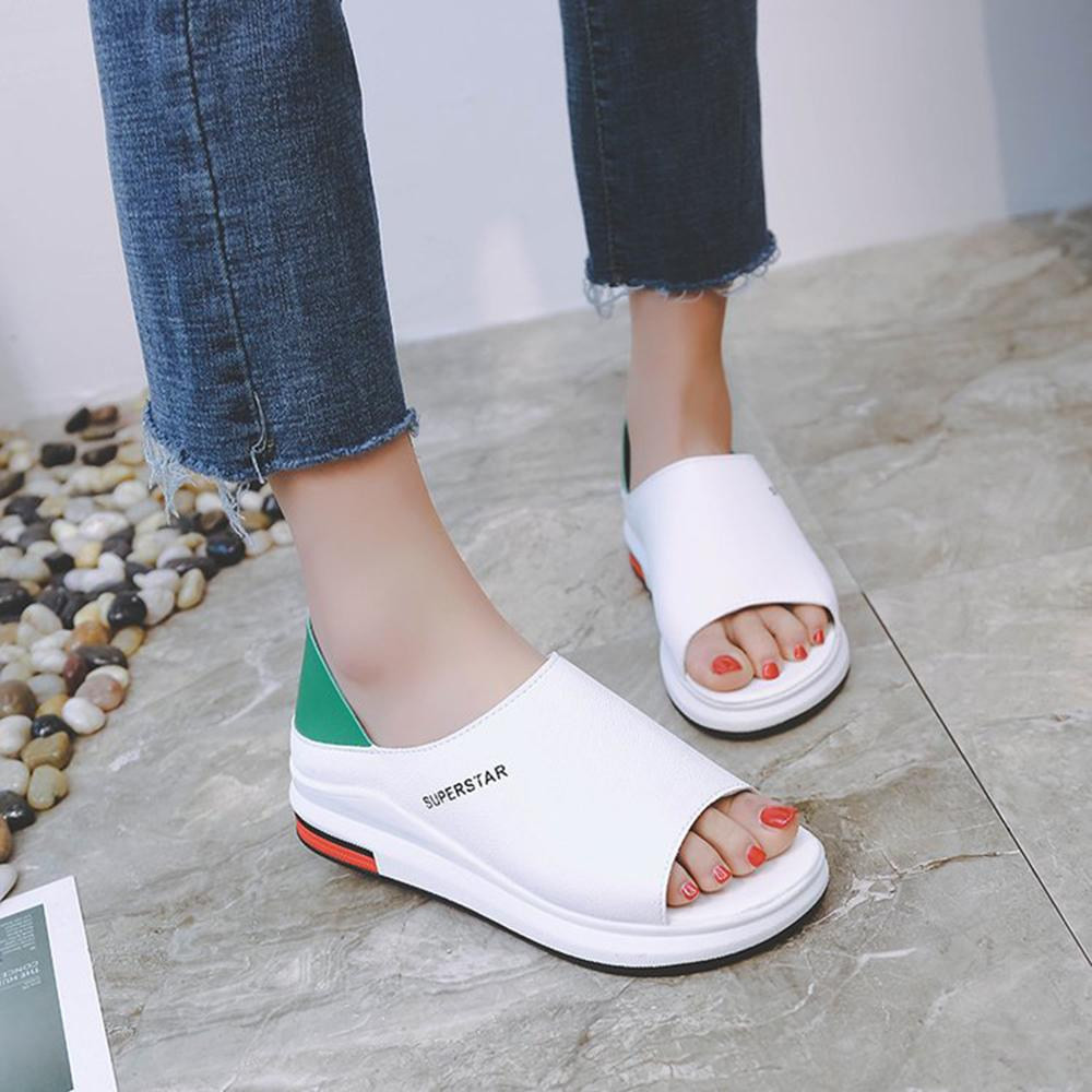 Higomore™ 2021 new women's sandals and slippers with two carrying platforms