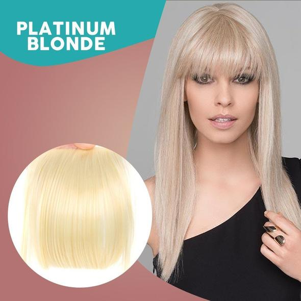 3D Clip-In Bangs Hair Extensions😍Mother's Day Promotion