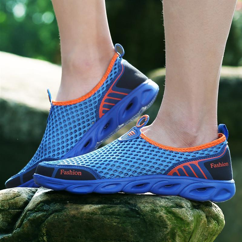 Men's Outdoor Set Foot Net Surface Quick Dry Water Shoes