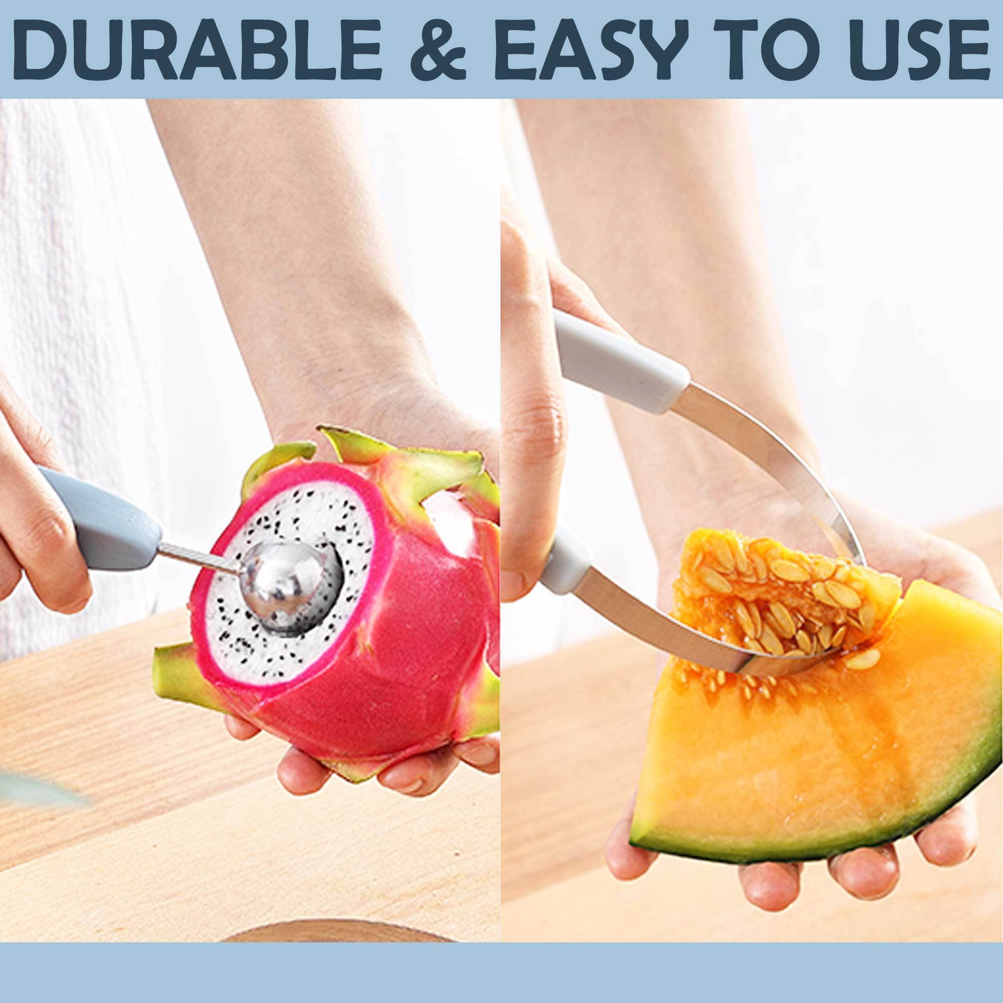 3-In-1 Stainless Steel Fruit Ball Digger