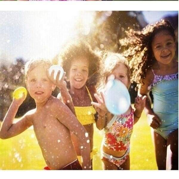 3 Sets Total 111 Pcs Summer Outdoor Party Prank Water Balloon Bombs Happy Children Playing in the Water Toys