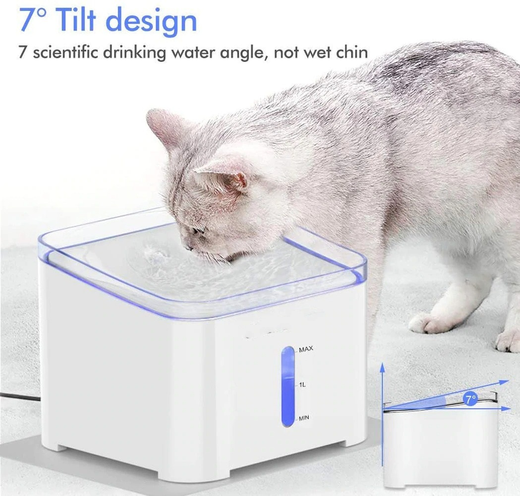 Pet Cat Water Fountain 2L Automatic