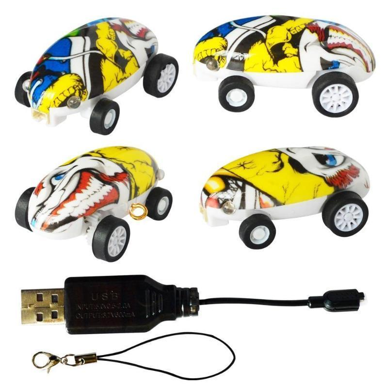 Mini High Speed 360 Degree Rotating Laser Car Stress Relieve Toy