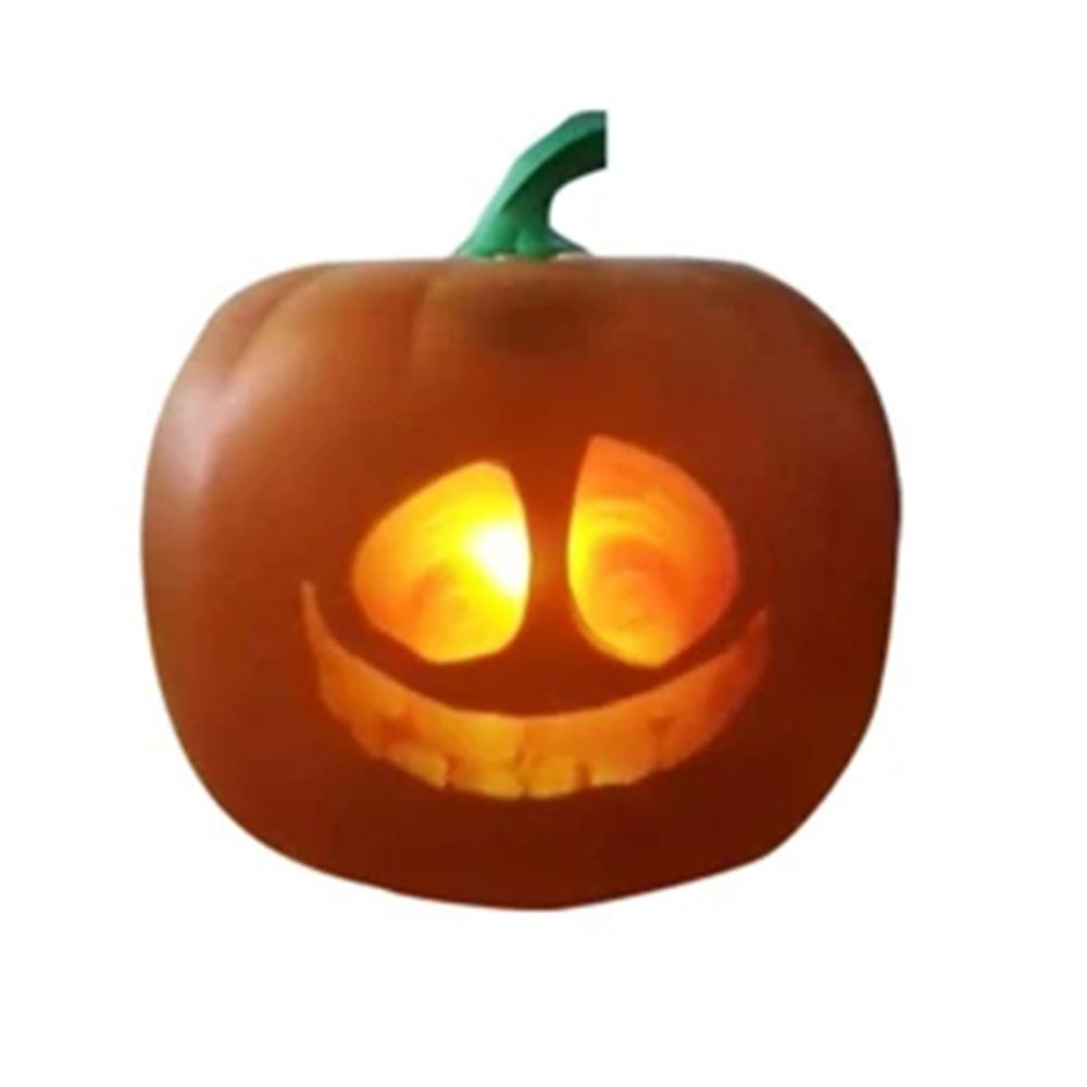 3D Talking Animated Pumpkin Projection Lamp & Speaker for Halloween Home Party Decor