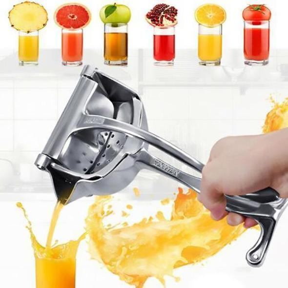 (❤️Father's Day Flash Sale - 50% OFF) Stainless Steel Fruit Juice Squeezer