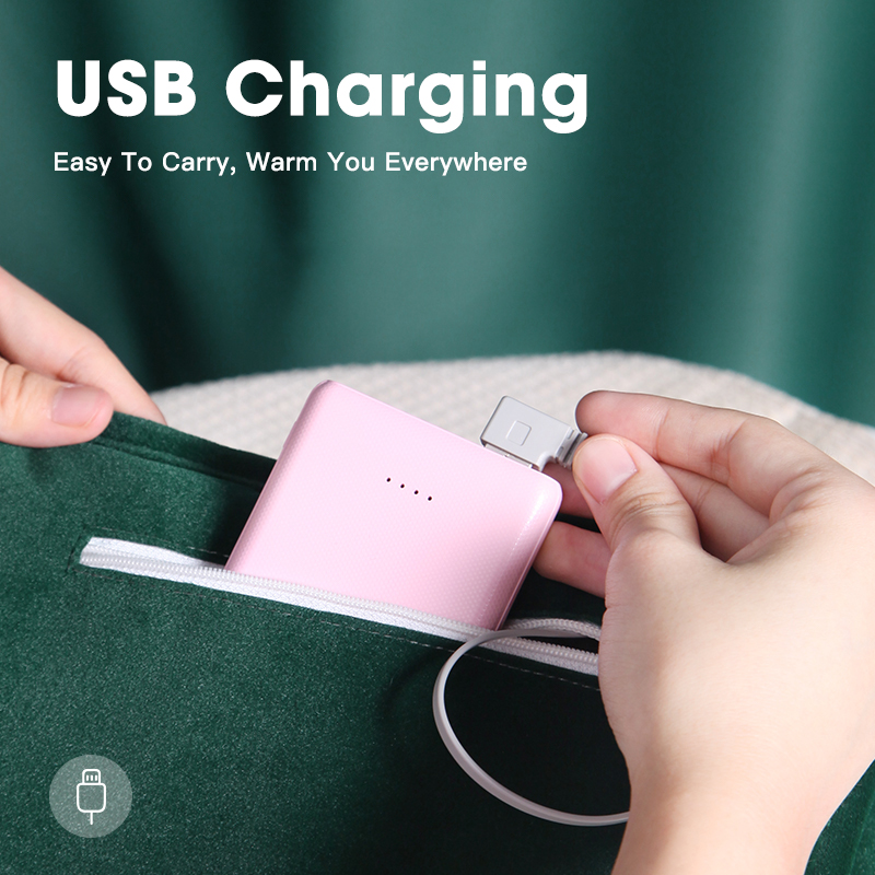 Innovative USB infrared hand warmer electric heating to keep warm