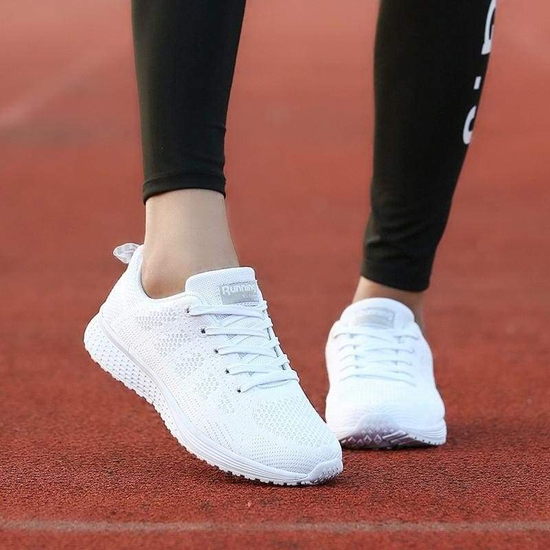 (Size: 34-40) Summer Women Fashion Jogging Shoes, Breathable Sports Shoes